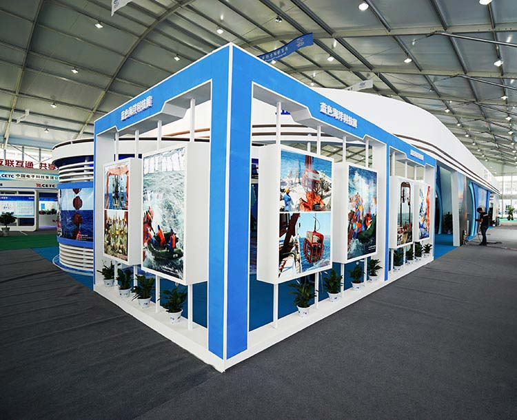 custom trade show booths sale