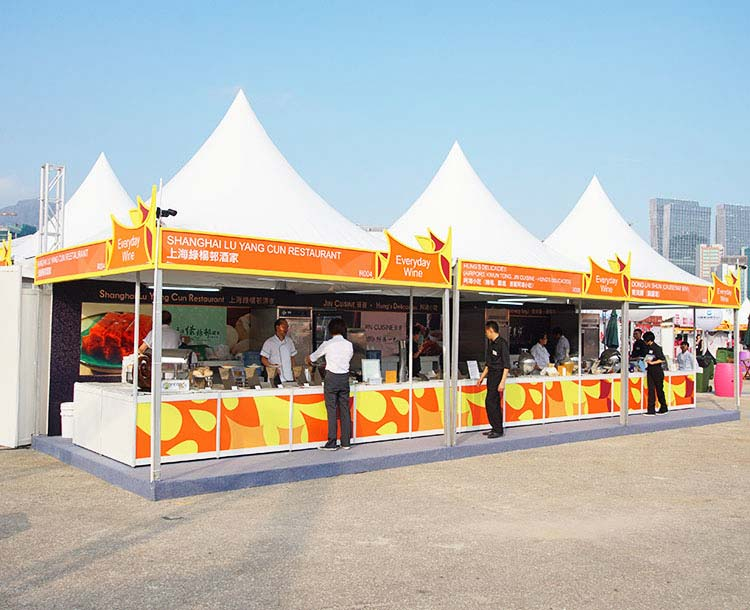 outdoor expo booths sale