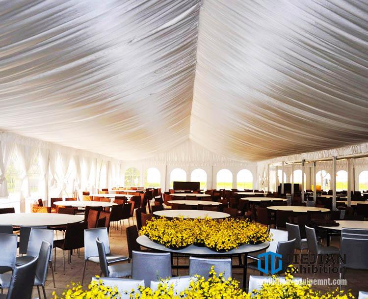 aluminum clear span tents