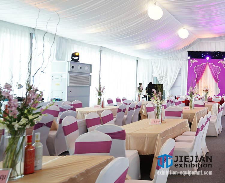 portable wedding tent ac