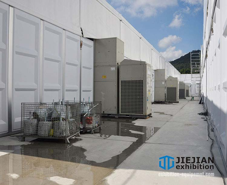 temporary air conditioning for event