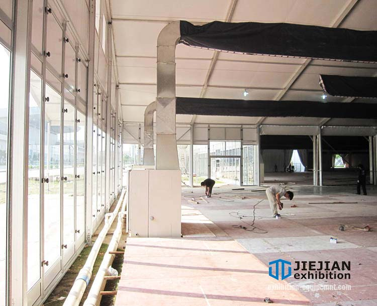 tent air conditioners installation