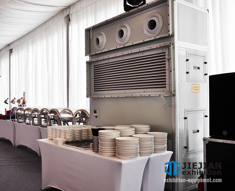 wedding tent ac unit