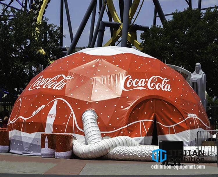 branding geo dome