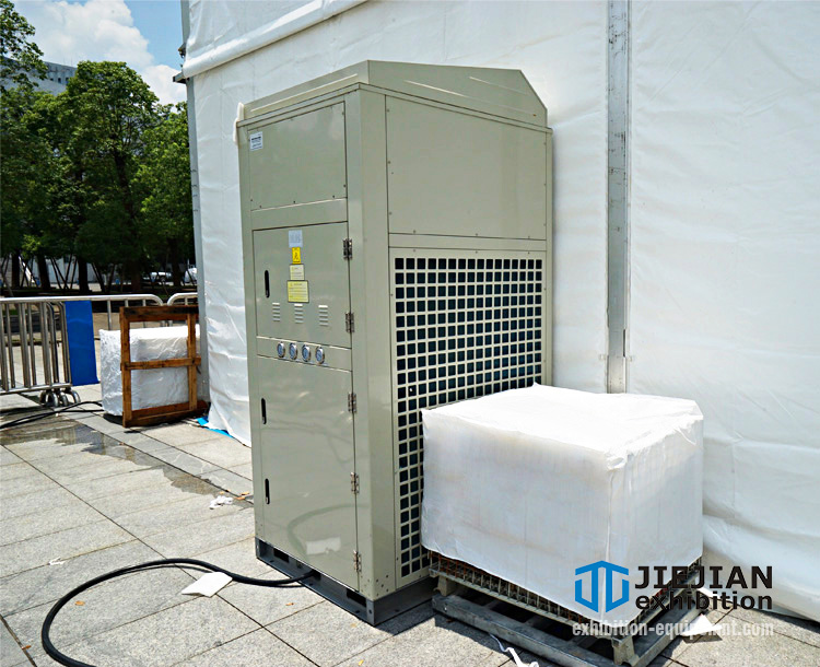 event tent heating air conditioning