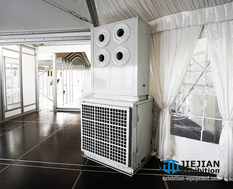 temporary tent aircon event cooling