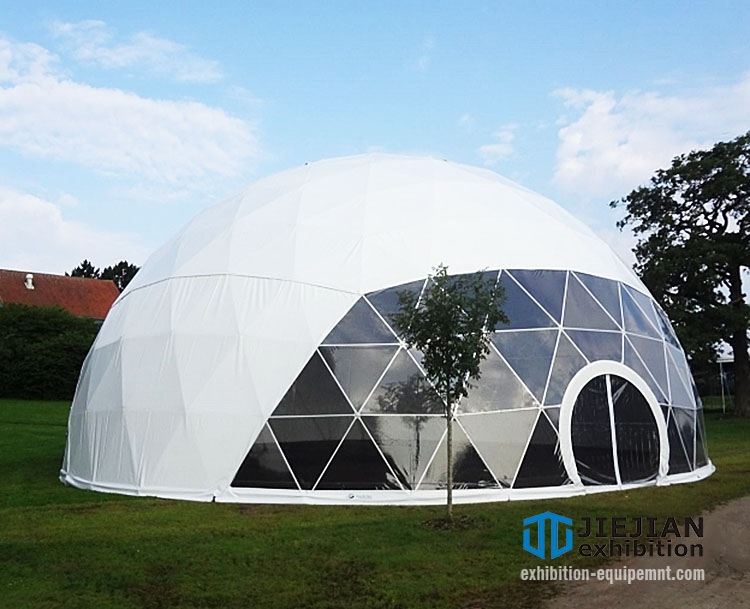 clear and white top domes