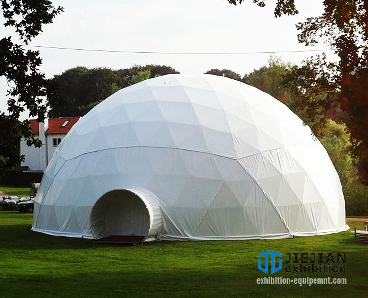 white top event dome tent