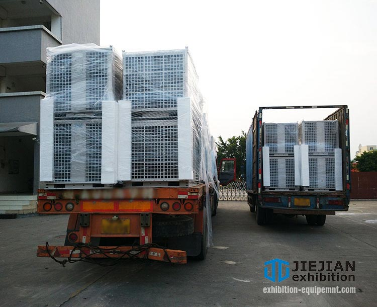 loading ac units in factory